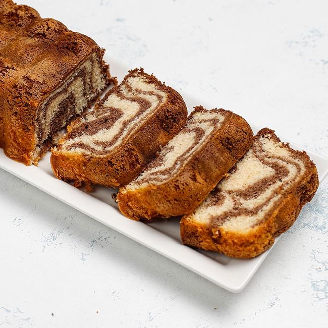 Cake marmol de Chocolate y Vainilla